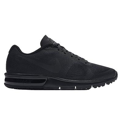 bc49a171cb9eb Nike Men's Air Max Sequent Running Shoe Black/Dark Grey Size 9 M US