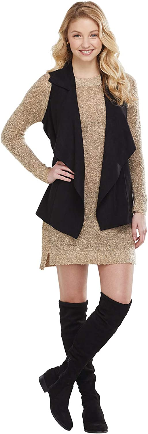 Mud Pie womens Demi Suede Vest