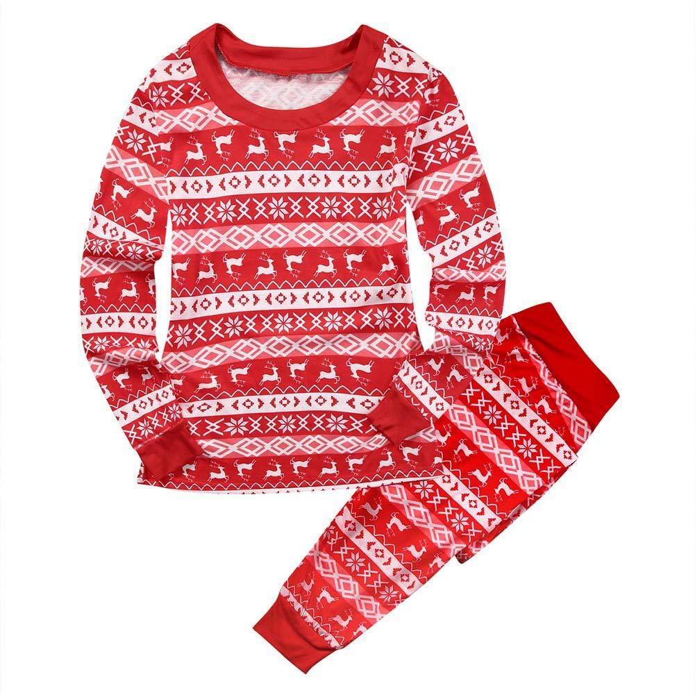 Blaward Family Matching Pajamas Nightwear Pajamas Pj Set Christmas Holiday Sleepwear Family Clothes Long Sleeve