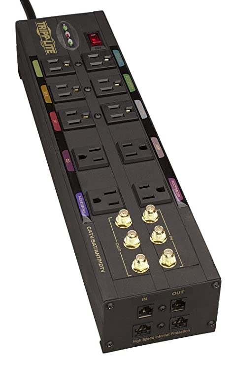 The 8 best home theater 10 outlet power strip surge protector