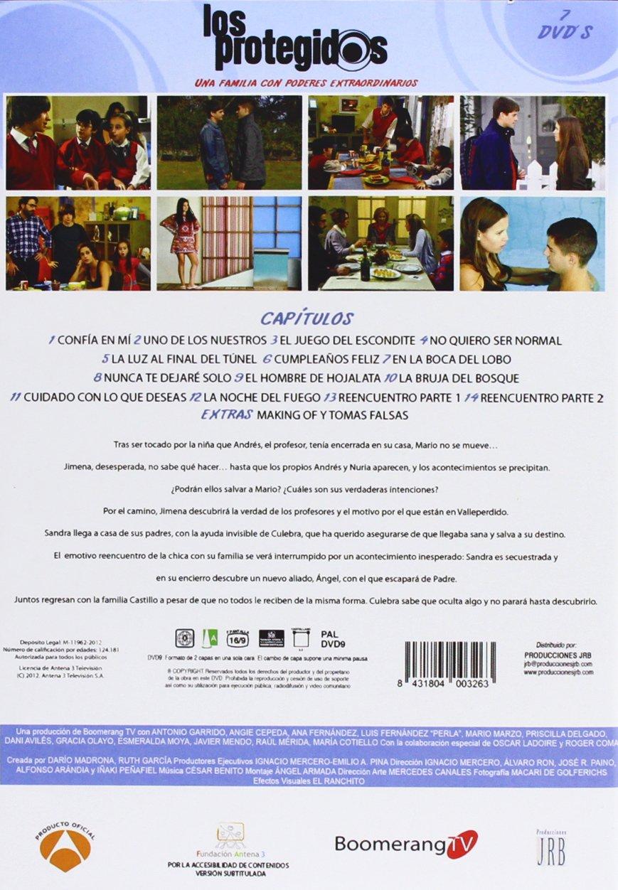 Los Protegidos - Temporada 2 [DVD]: Amazon.es: Antonio ...