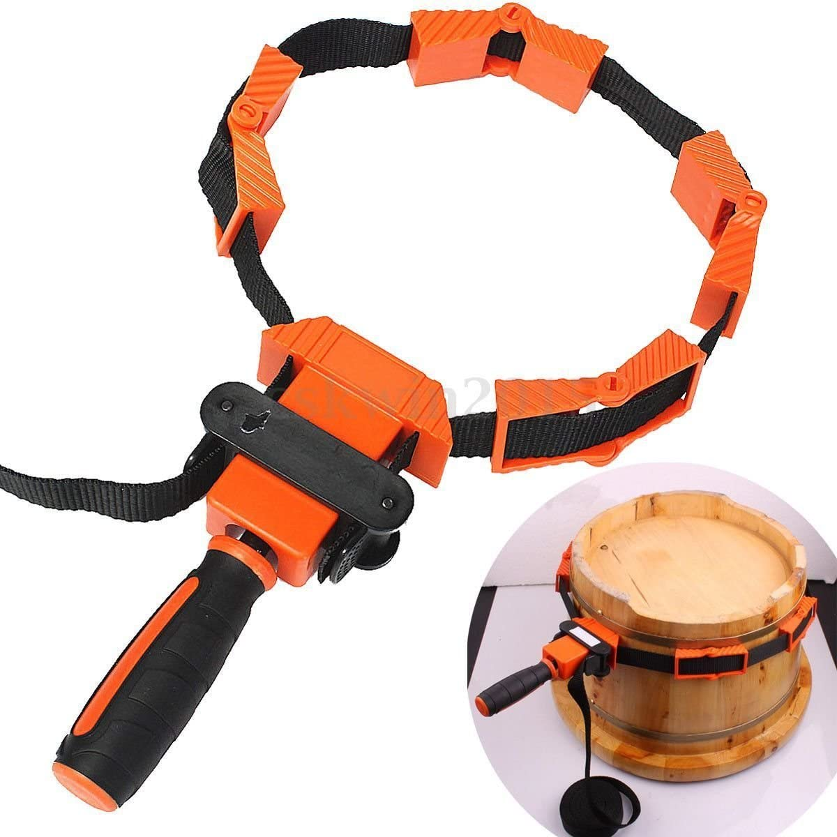 Picture Frame Sash Clamp Frame Clamps 4 Jaw Webbing Strap Band Type CL097