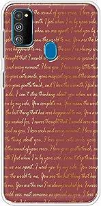 كفر حماية مرن شفاف جراب متوافق مع سامسونج جاكسي ام 30 اس - متعدد الألوان - بواسطة اوكتيك