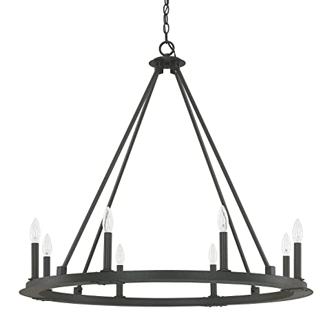 Capital Lighting 4918BI 000 Eight Light Chandelier