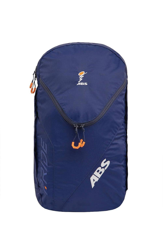 ABS Unisex-Erwachsene Lawinenrucksack Zip-On 18, Packsack für P.Ride Original und Vario Base Unit, Fach für Sicherheitsausrüstung, 18L Volumen, Ski-und Snowboardhalterung, Helmnetz