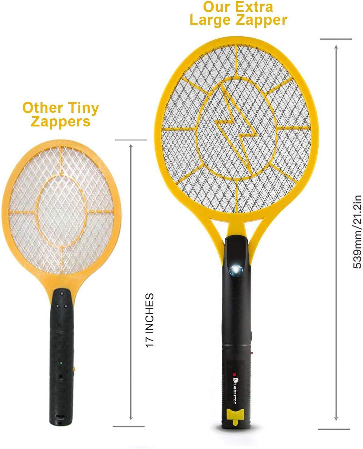 Gjyia USB Charge Elektrische Fliegenklatsche Teleskop Moskito Killer Insect Reject Racket BL