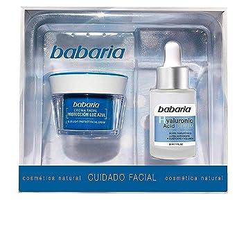 Babaria Estuche con Crema y Suero, 50 ml, Azul: Amazon.es ...