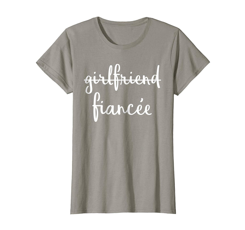 2354d6c8 Womens Girlfriend Fiancee T Shirt, Fiance Engagement Party Tshirt-Newstyleth  – Newstyleth.com