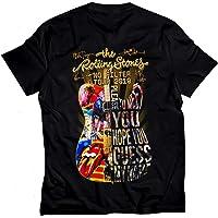 AUMURYOBAO 89Fashion USA The Rolling 2019 Stones No Filter Guitar Tour T Shirt