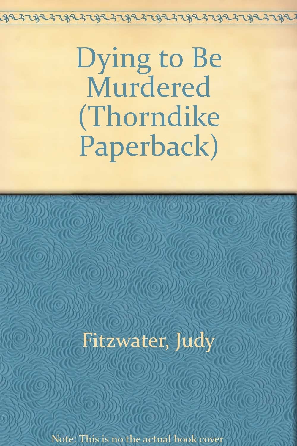 Dying to Be Murdered (Thorndike Press Large Print Paperback Series) pdf