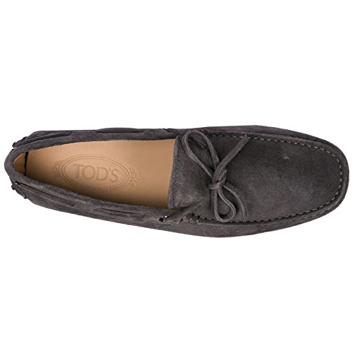 Amazon.com | Tods Men Gommino Moccasins Cenere Scuro Grey | Loafers & Slip-Ons