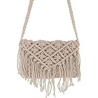 Gorgeously Retro Macrame Boho Cross Body Handbag