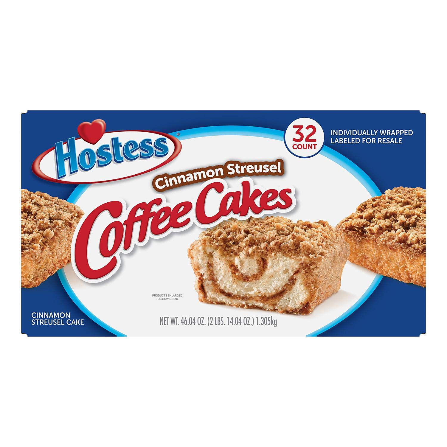 Hostess Cinnamon Streusel Coffee Cakes, 32 count by Hot Deals Warehouse