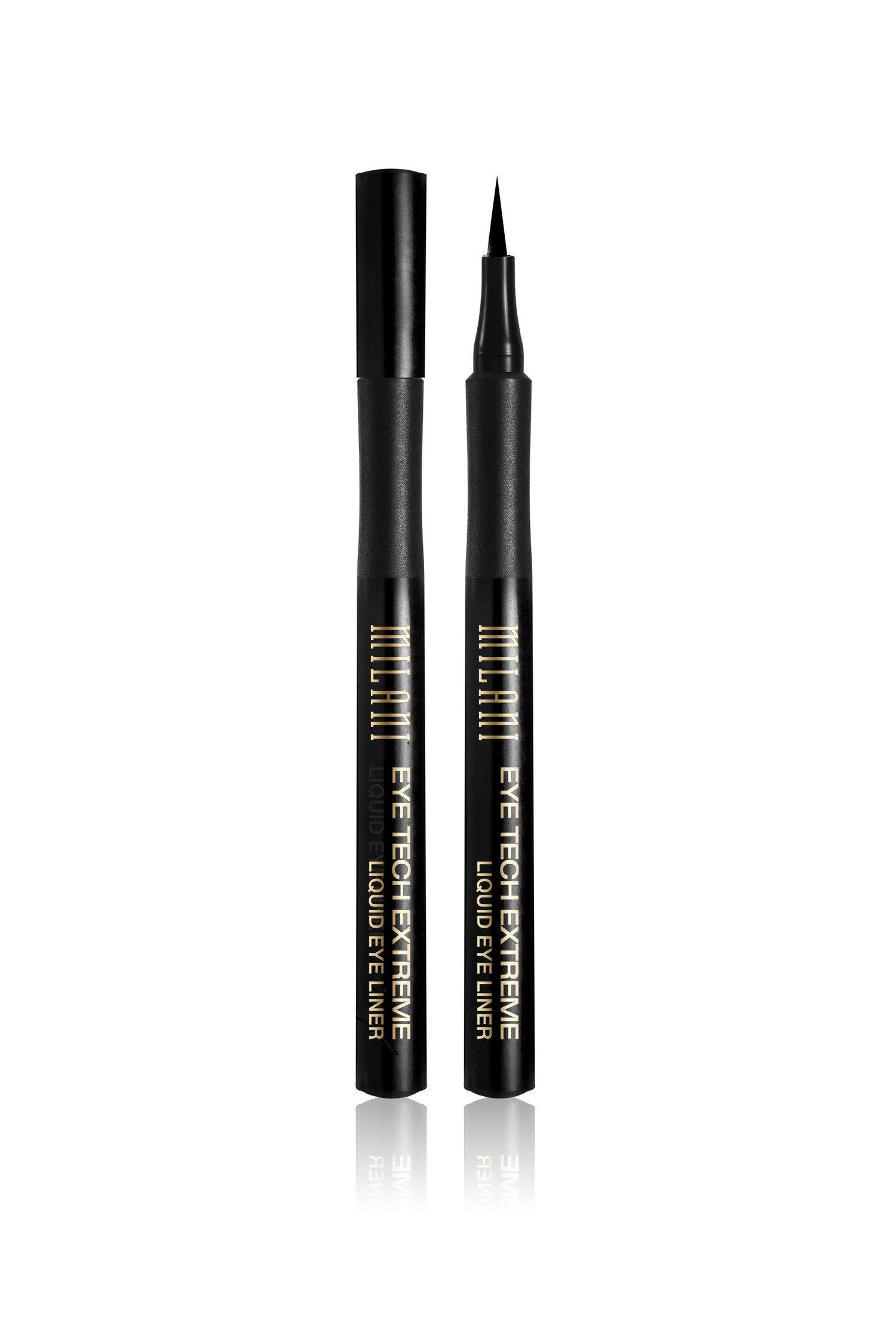 Milani Eye Tech Extreme Liquid Eye Liner, Blackest Black .033 Fl.Oz./1ML