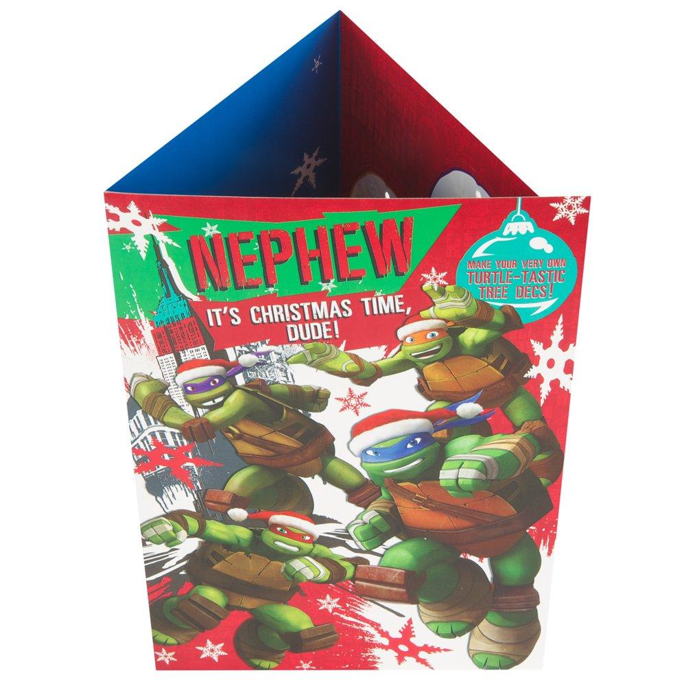 Hallmark Teenage Mutant Ninja Turtles Christmas Card To Nephew ...
