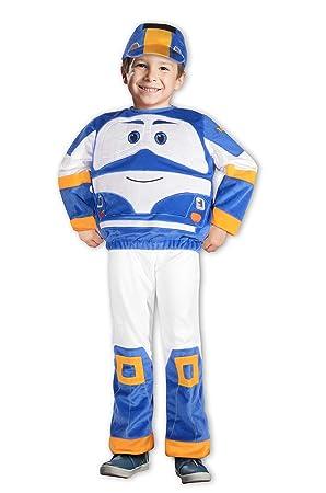Ciao Kay Tren Robot Trains traje Niño, 2 - 3 años, Azul ...