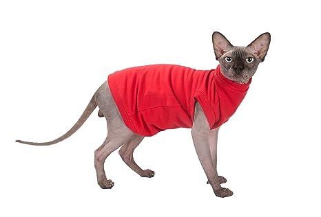 Kotomoda Ropa para Gatos Invierno EN Rojo (XL)