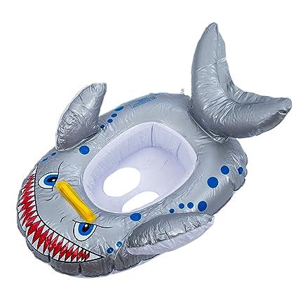 SODIAL(R) Flotador Diseno de Tiburon para Ninos