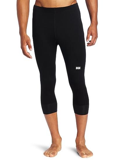 aacffb966 Amazon.com: Helly Hansen Men's Warm 3/4 Pant, Black, XX-Large ...