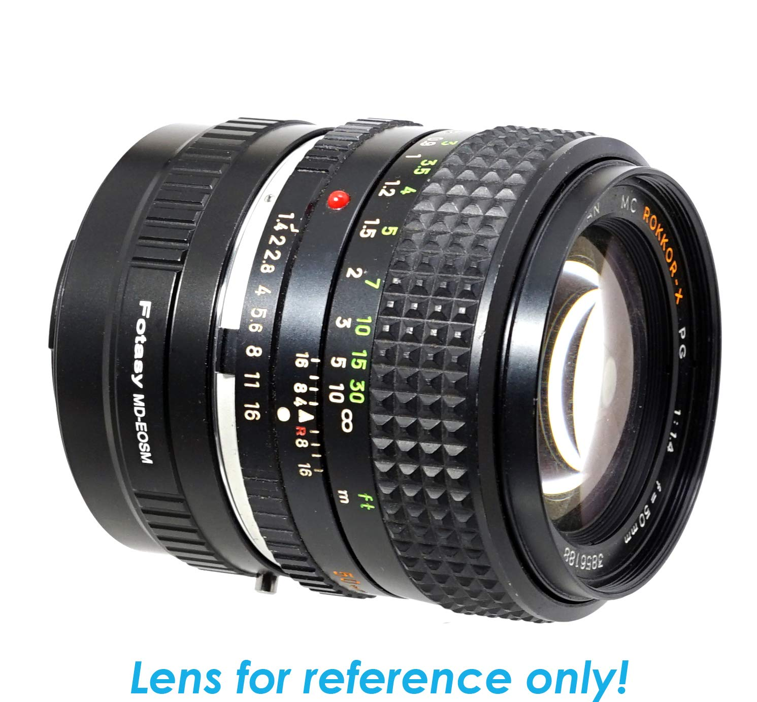 Lens Mount Adapter for Minolta MD MC Lens to Canon EOS M EF-M M2 M3 M5 M6 M10 M50 M100 Mirrorless Camera Adapter Ring