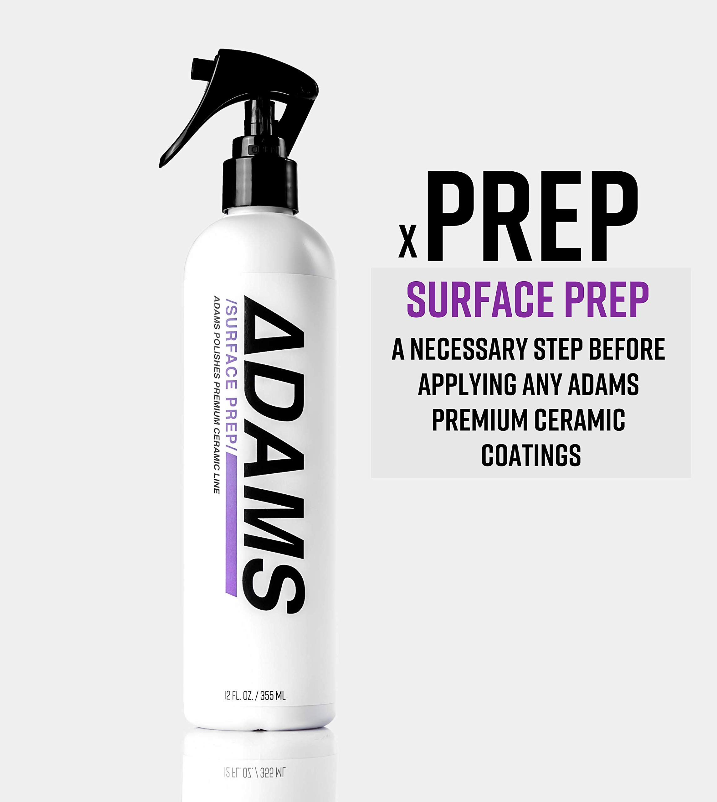 Adam's Ceramic Spray Coating 8 oz Complete Kit - A True Nano Ceramic Protection for Car, Boat & Motorcycle Paint - Top Coat Polish Sealant After Clay Bar, Polishing & Detail Car Wash (Complete Kit) by Adam's Polishes (Image #2)