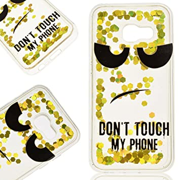 coque samsung a5 2017 don't touch my phone