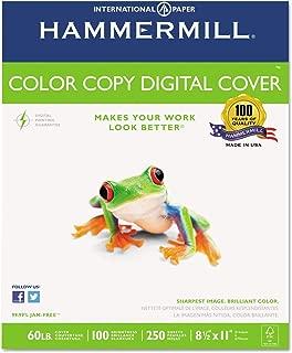 product image for Hammermillamp;reg; Cover Stock, 60lb, 98 Brightness, Letter, White, 250 Sheets