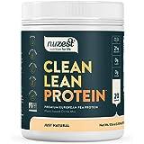 Nuzest Clean Lean Protein - Premium Vegan Protein Powder, Plant Protein Powder, European Golden Pea Protein, Dairy Free, Glut