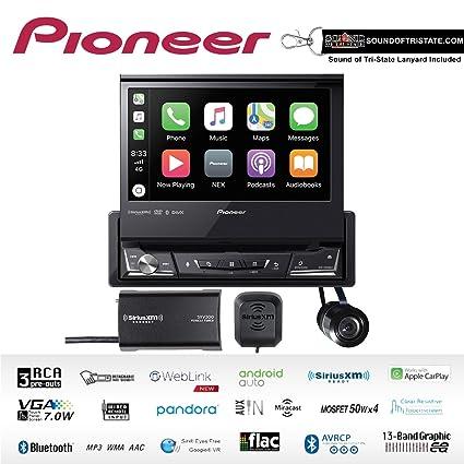 Amazon Com Pioneer Avh 3500nex 7 Single Din Dvd Receiver Apple