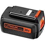 Black + Decker 36 V, 2.0 Ah Lithium Ion Spare/Supplement Products battery compatible, 36 V, BL20362