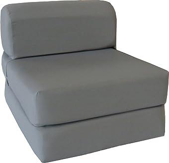 D&D Futon Furniture Gray Sleeper