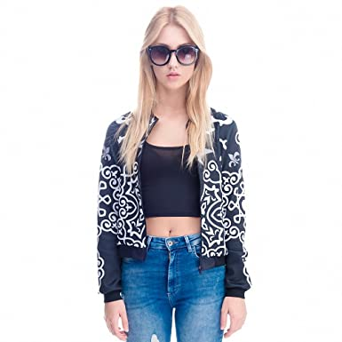Women Bomber Jacket 3D Printed Chaquetas Mujer Outwear Long Sleeve Coats University College Teenager Jackets jka36078