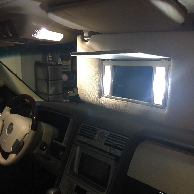 giallo segnalatore laterale e cruscotto Lampadine alogene T10 w5w 194 168 501 con base a cuneo DC 12V 5W per luce di parcheggio