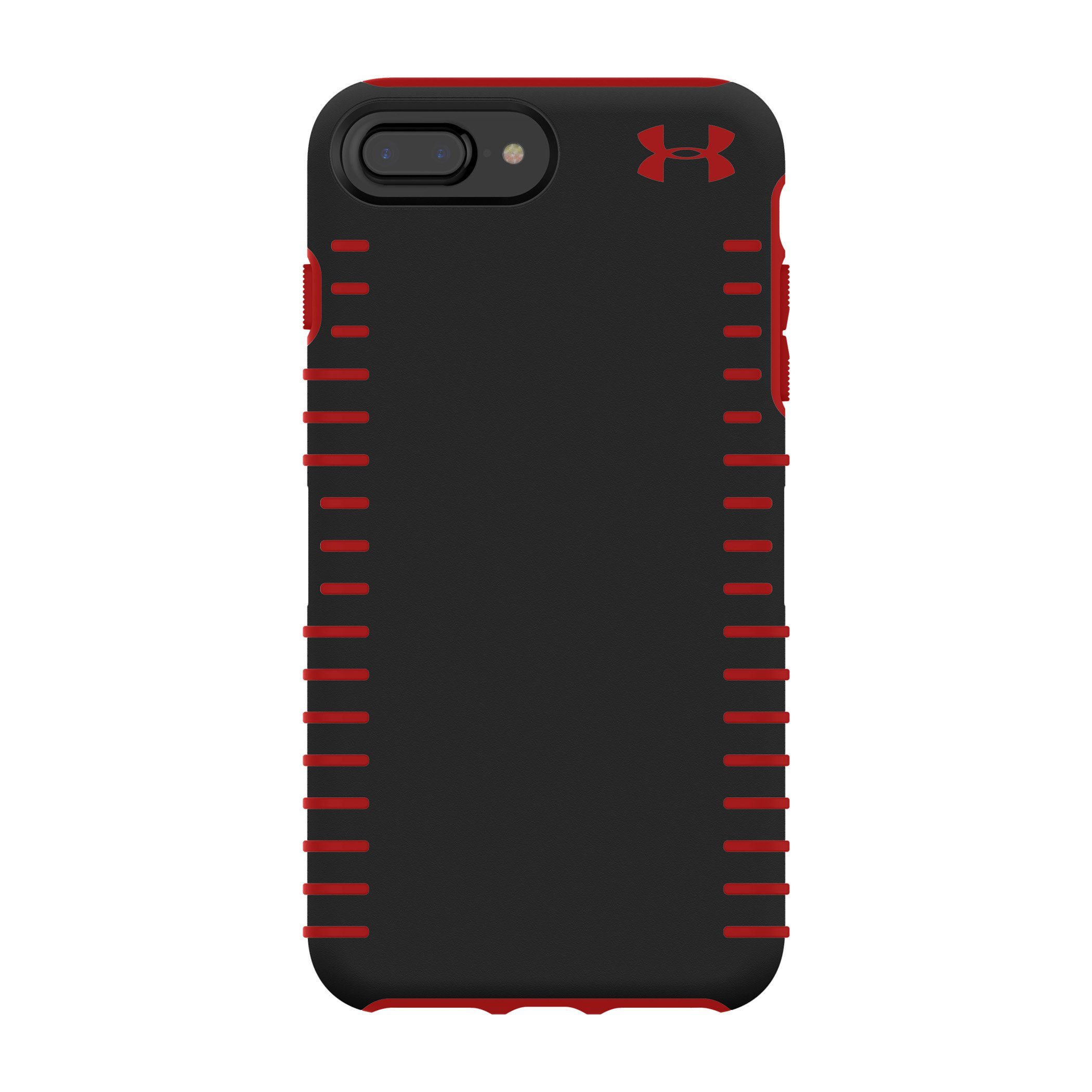 Under Armour UA Protect Grip Case for iPhone 8 Plus, iPhone 7 Plus, iPhone 6s Plus, iPhone 6 Plus - Black/Red
