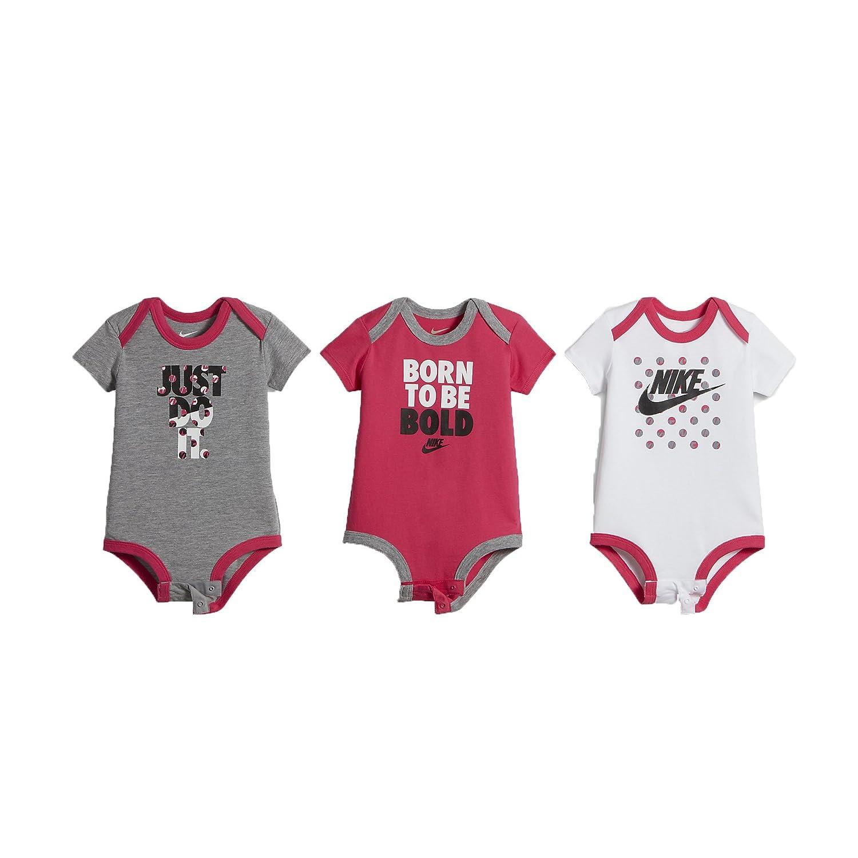 Nike Swoosh Infant Baby Body Set de Tres Piezas: Amazon.es: Ropa y ...