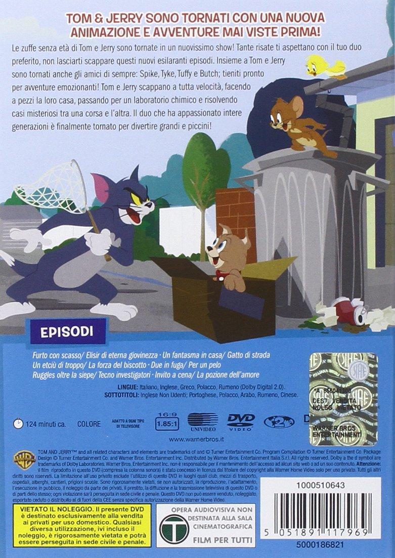 Amazon.it tom & jerry show stagione 01 volume 02: acquista in dvd