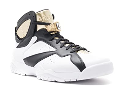 save off 316c9 625d0 ... best price nike mens air jordan 7 retro c c champagne white metallic  gold black leather white authentic ...