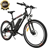ANCHEER 2019 Pro Electric Mountain Bike, 26'' Electric Bicycle with Removable 12.5AH Lithium-Ion Battery for Adults…