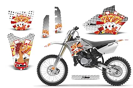 Camoplate-AMRRACING MX Graphics decal kit fits Yamaha PW50 All years-Blue