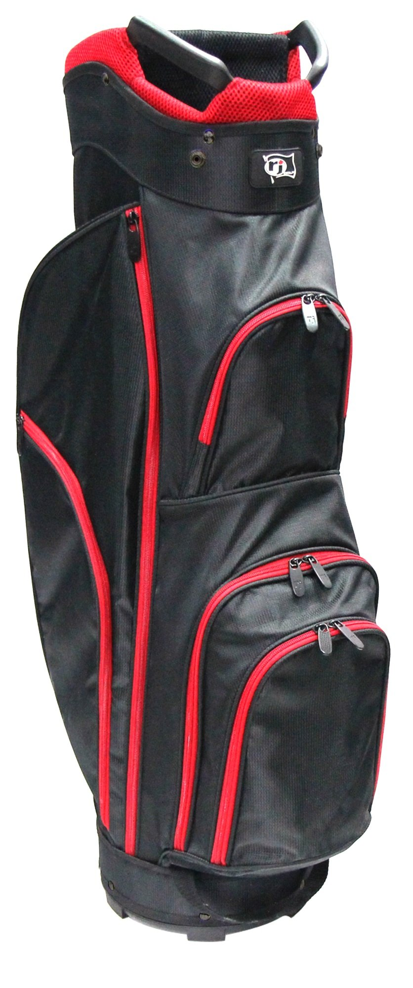 RJ Sports CC-490 Starter Bag, 9'', Black/Red