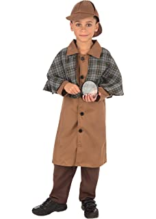 Detective Fancy Dress Costume (child size) 8-10 Years (disfraz ...