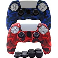 PS5 controller Skin-ROCK POW silicone cover PS5 DualSense controller grip, non-slip cover for Playstation 5 controller-2…