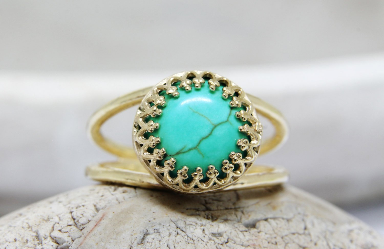 turquoise ring, gold ring,delicate ring, turquoise jewelry, gemstone ring, 14k gold fill ring, December birthstone