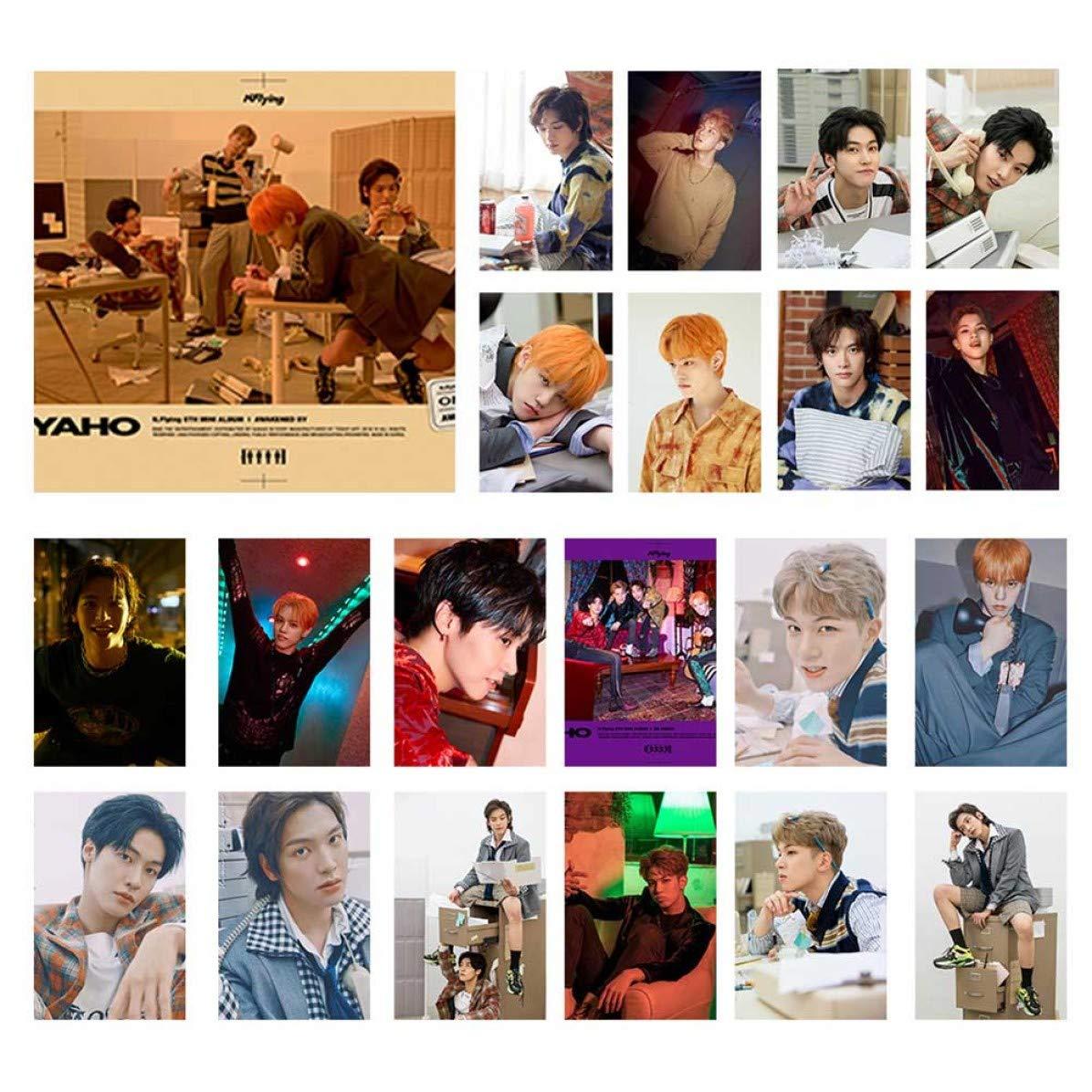 per confezione Cornell Friendly Super Junior Stray Kids Combinazione nuovo album cartolina LOMO 1 unit