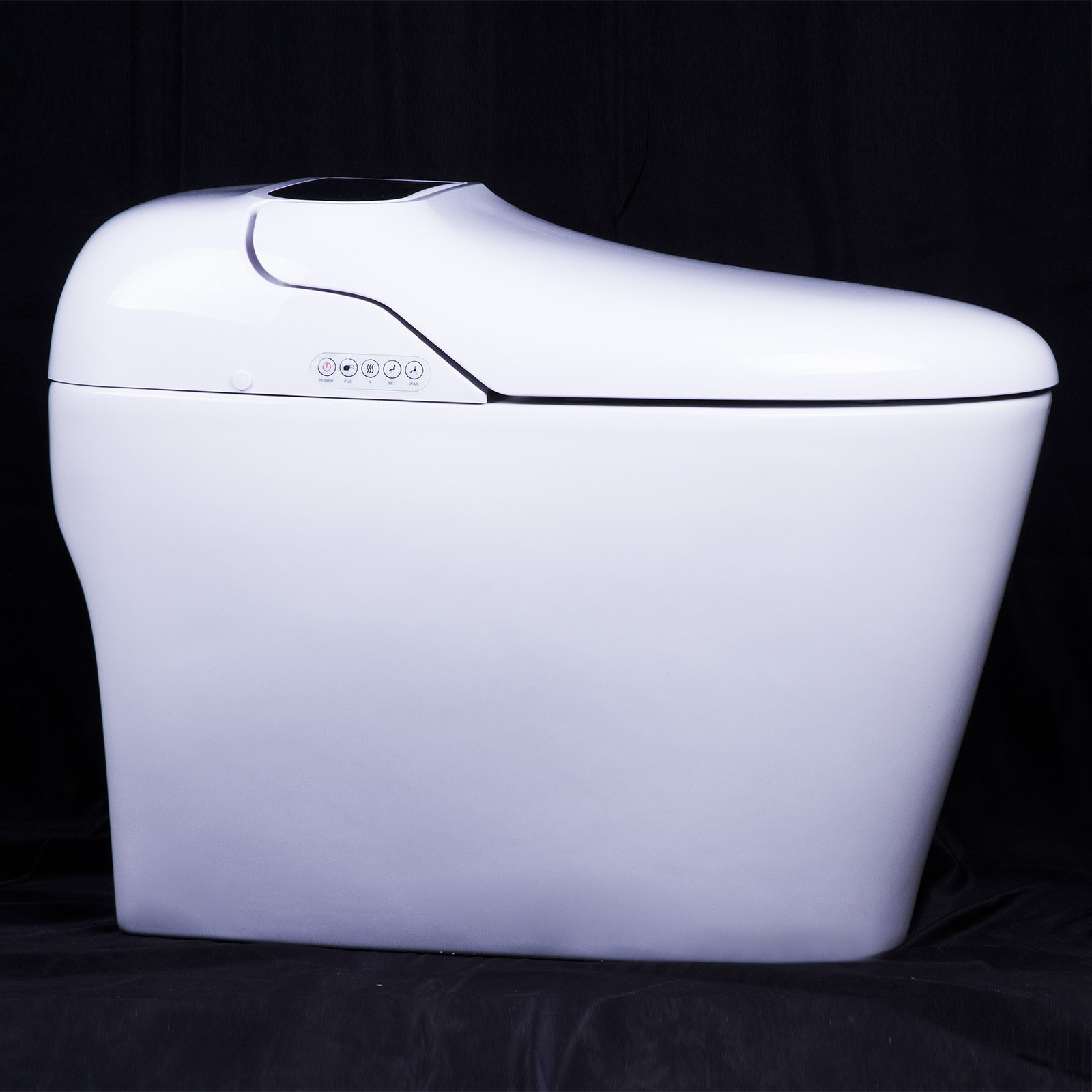 Euroto Luxury Smart Toilet One Piece Toilet with Soft Closing Heated Seat European Design Elongated for Bathroom Toilet Bowls, Toilets, and Toilet Seats by EUROTO (Image #4)