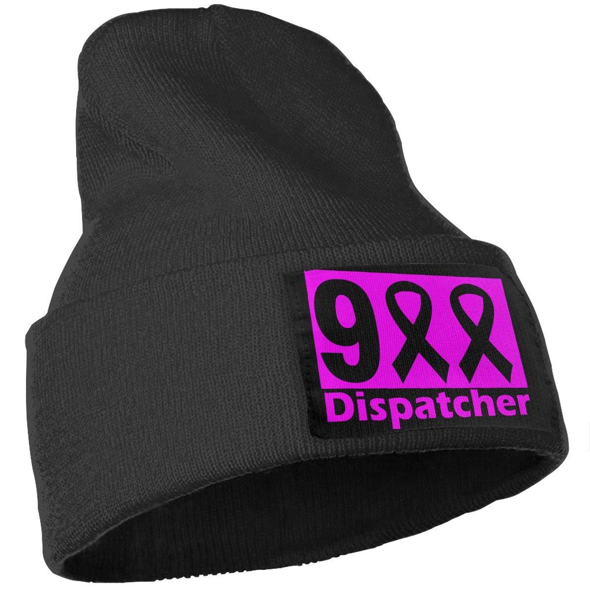 COLLJL-8 Men//Women 911 Dispatcher Outdoor Stretch Knit Beanies Hat Soft Winter Skull Caps
