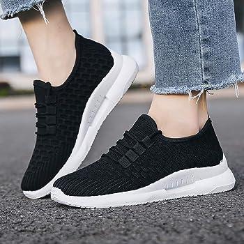 Zapatos para Caminar al Aire Libre Zapatos de Mujer en Color Liso ...