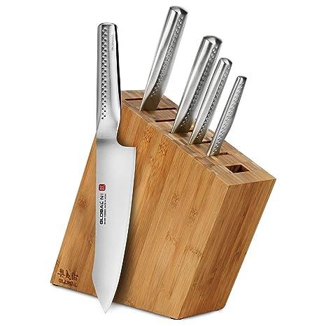 Amazon.com: Global Ni - Juego de cuchillos (6 piezas ...