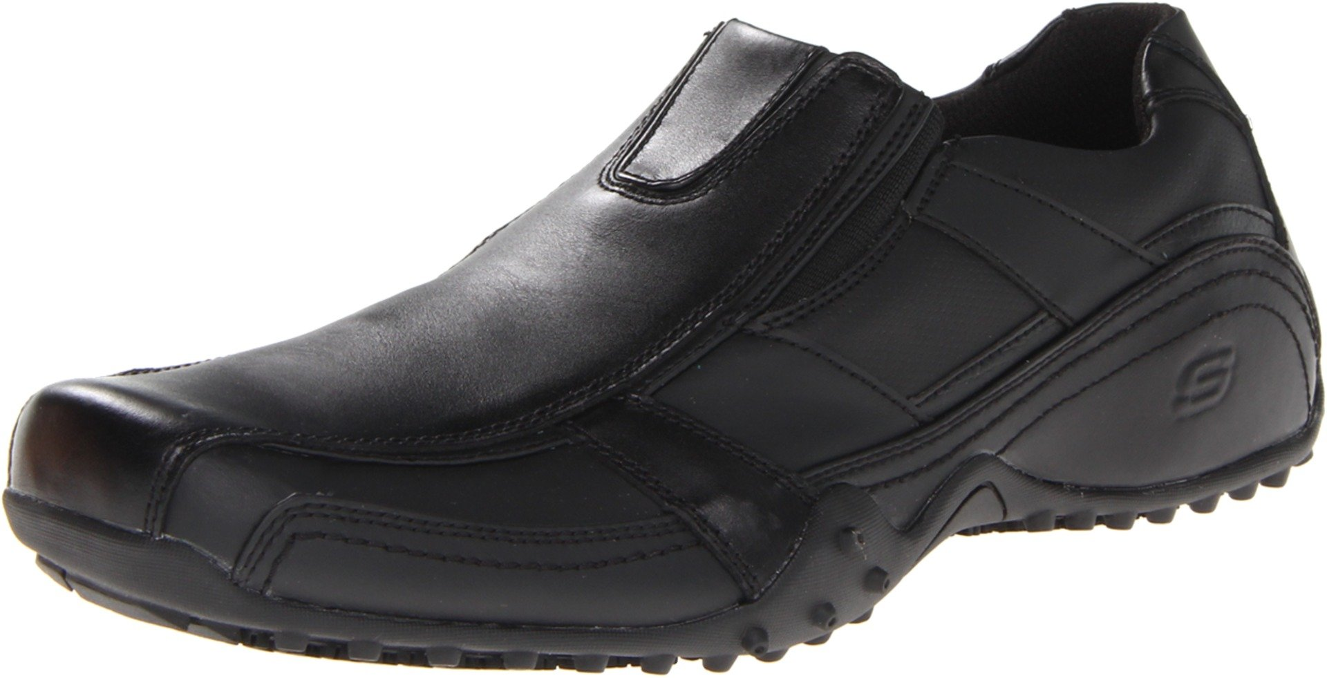 Skechers for Work Men's Rockland-Hooper Work Boot, Black/Graphite, 10 M US by Skechers
