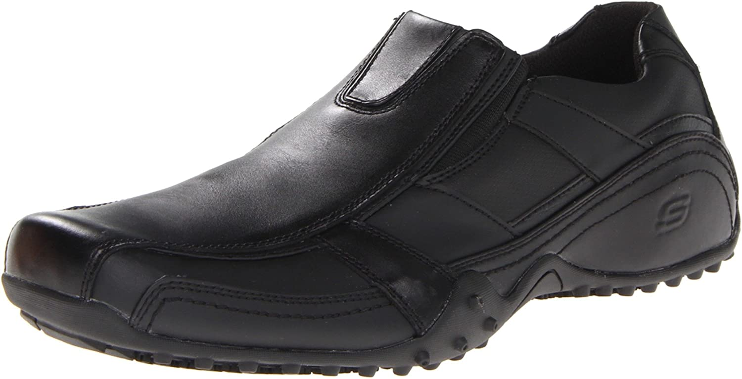 b9605f844f Amazon.com: Skechers for Work Men's Rockland-Hooper Slip Resistant Slip-On  Shoe: Shoes